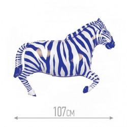 И 42 Зебра (синяя) / Zebra / 1 шт / (Испания)