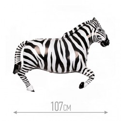 И 42 Зебра (черная) / Zebra / 1 шт / (Испания)
