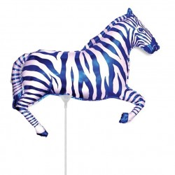 И 14 Зебра (синяя) / Zebra / 1 шт / (Испания)