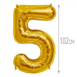 """И 40 Цифра """"5"""" золото / Five Gold"""