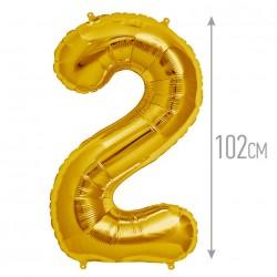 """И 40 Цифра """"2"""" золото / Two Gold"""