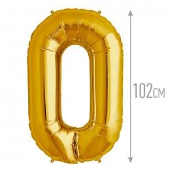 """И 40 Цифра """"0"""" золото / Zero Gold"""