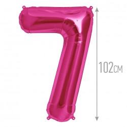 """И 40 Цифра """"7"""" фуксия / Seven Purple"""