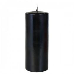 Свеча черная 150х70