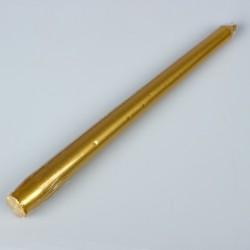 Свеча античная в термопленке золотая