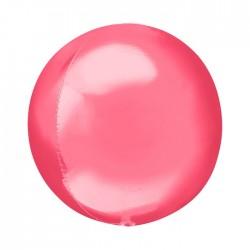 Шар полимерный Неон темно-розовый 48см