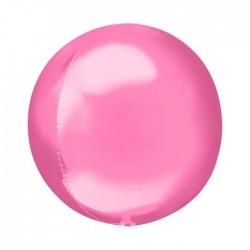 Шар полимерный Неон розовый 48см