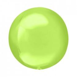 Шар полимерный Неон зеленый 48см