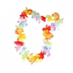 Ожерелье многоцветное Гавайское 52см