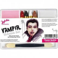 "Набор грим-карандашей и красок ""Вампир"" / 4 карандаша, краска (Германия)"