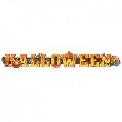 Гирлянда Halloween тыквы 80см