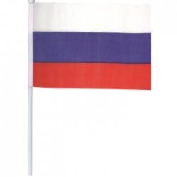 Флаг Россия 14*20 см (Китай)