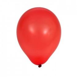 Шар красный латексный пастельный 100шт