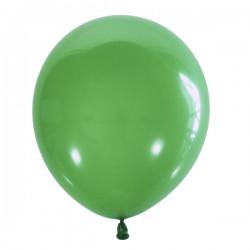 Шар зеленый латексный пастель 13см 100шт