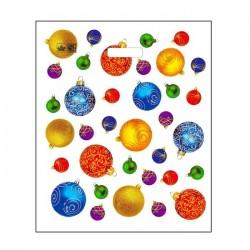 """Пакет """"Шарики-фонарики NEW"""", полиэтиленовый с вырубной ручкой, 40х34 см 30 мкм 1167073"""