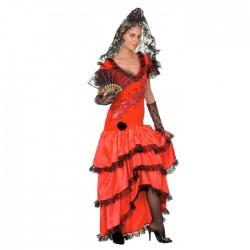 """Карнавальный костюм """"Кармен"""", 2 предмета: платье, ободок, размер M-L 44-48 334160"""