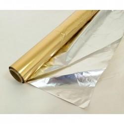 Полисилк рулон 1*20 м Золото матовое (Россия)