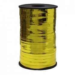 Лента металлизированная (0,5 см x 250 м) Золото