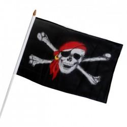 Флаг Пиратский 30х45см