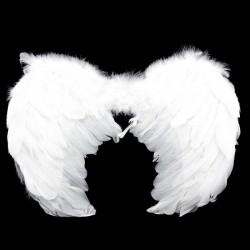 Крылья 45*35 см «Ангел» Белые / 1 шт. / (Китай)