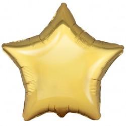Шар Звезда Античное Золото 48см