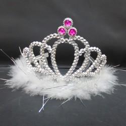 Корона королевы с мехом