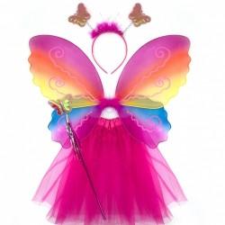 Карнавальный набор Крылья,юбка,ободок,палочка