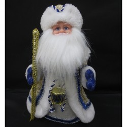 Дед Мороз 30см муз. 141-469М
