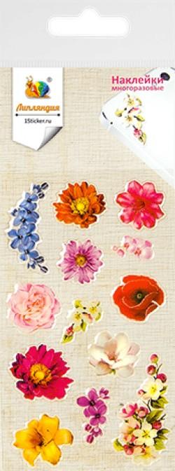 Наклейка дек леденц 2 Цветы 1 70х160