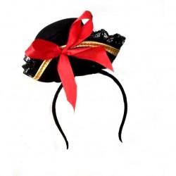 Ободок Пиратская шляпка