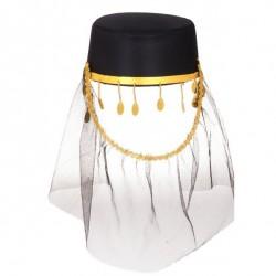 Карнавальная шляпа Шахерезада черная
