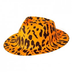 "Шляпа ""Леопард"" Оранжевая"