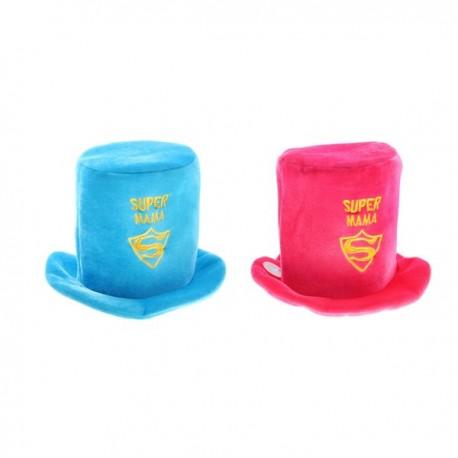 Карнавальная шляпа Супер мама 30x20см