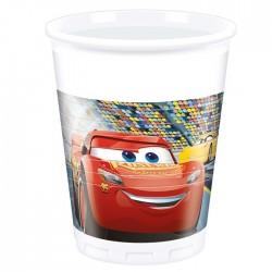 Набор стаканов Тачки 3 8шт