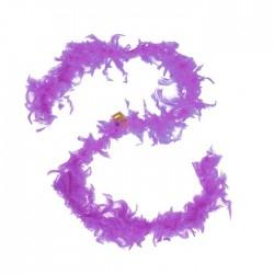 Карнавальный шарф-перо 180 см, 60 грамм, цвет фиолетовый 1496141