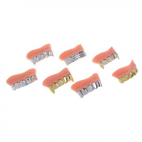 Прикол зубы блестящие 5x3см