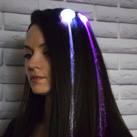 Y Прядь LED мигающая многоцветная