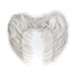 Крылья ангела белые 29х34см