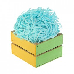 Наполнитель бумажный насыщенно-голубой 50гр