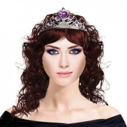Парик Принцесса c тиарой Шатенка