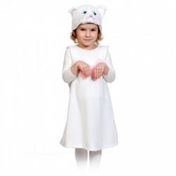 Карнавальный костюм Кошечка белая р92-122