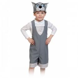Карнавальный костюм Котик серый р92-122