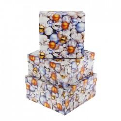 """Коробка прямоугольник """"Много шаров"""" №1"""