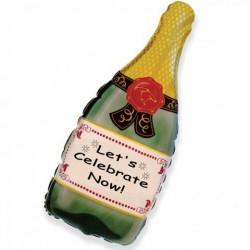 Шар Бутылка шампанского 83см