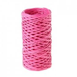Шпагат декоративный ярко-розовый 0,2 см х 30 м 911985