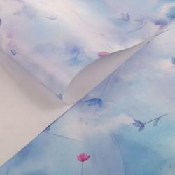 Бумага упаковочная глянцевая 50х70см