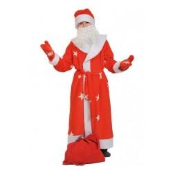 Набор Деда Мороза шапка,варежки,борода взр. К 1037