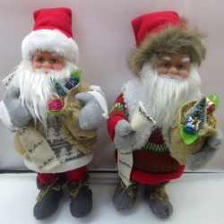Дед Мороз 31см муз. 141-15H 3 вида