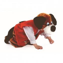Карнавальный костюм Собака Чапа мех Батик р28