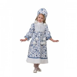Карнавальный костюм Снегурочка Ледянка текстиль Батик р32